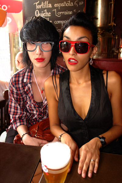 Astrogirl & Lisa