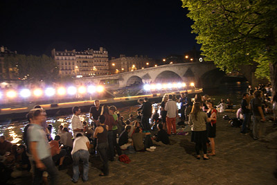 quai de Seine by night @ BBQ électro #2