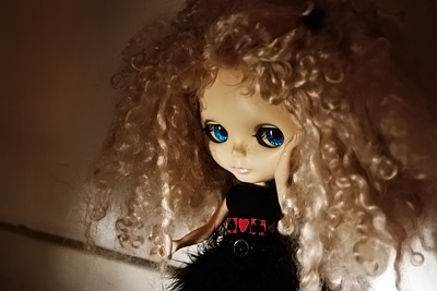 Blythe mohair d'Ophlie