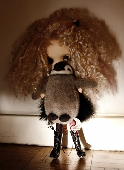 Blythe mohair with Pedro