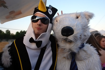 mon pote pingouin et moi