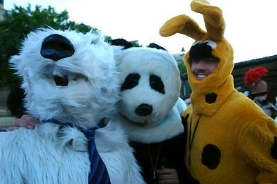 moi et mes potes Panda et Marsu