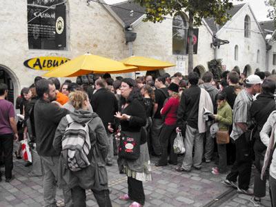 la foule au Festival des blogs BD