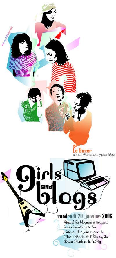 Girls & Blogs au Boxer le 20 janvier 2006
