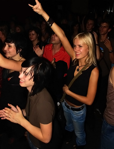 enthusiastic girls