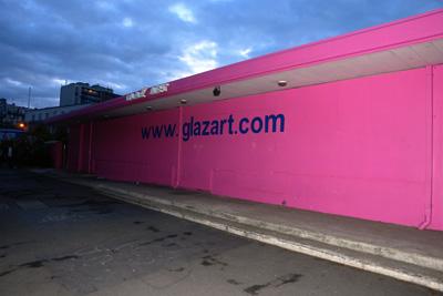Glazart (vu du dehors)
