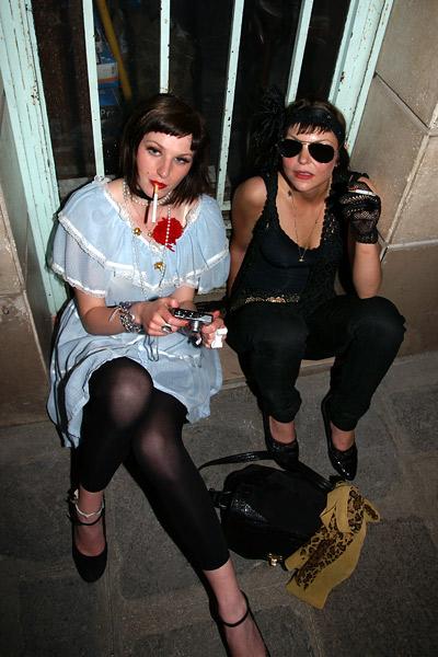 Justine & Milou @ Café Bonnie