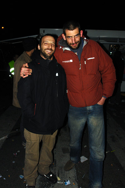 Mathieu Kassovitz et Augustin Legrand