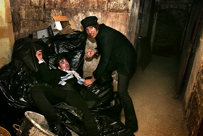 Adan Jodorowsky killed Nicolas Ullmann @ la cave du NY Club