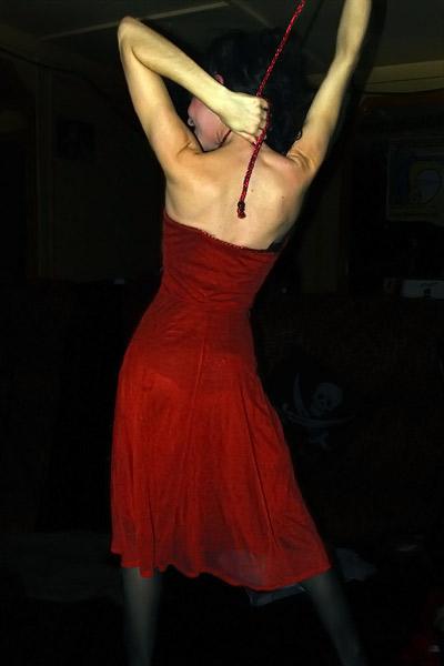 Louise en robe
