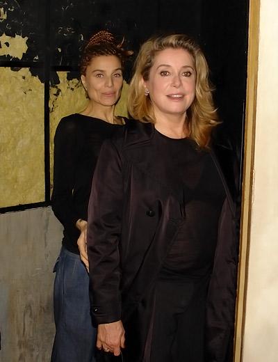 Elli Medeiros & Catherine Deneuve