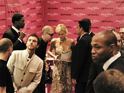 Paris Hilton @ Sephora