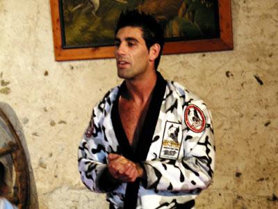 Patrick Bittan, vice-champion du monde et instructeur au GIGN