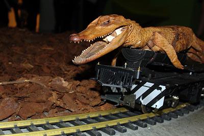 Crocodilian Fantasies, par Sergio Vega