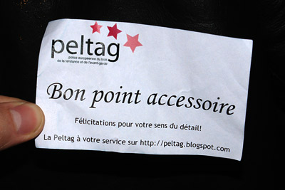 Bon Point peltag