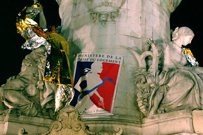 Nuit Solidaire en Faveur du Logement @ place de la République
