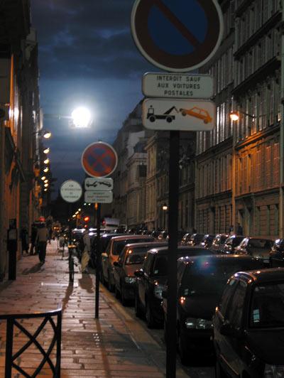 tournage rue de Monceau
