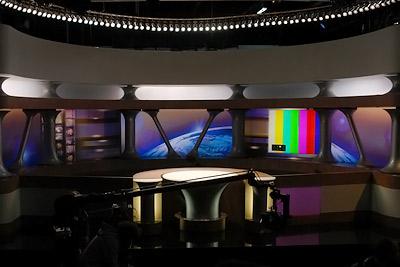 plateau des Guignols @ studio 104