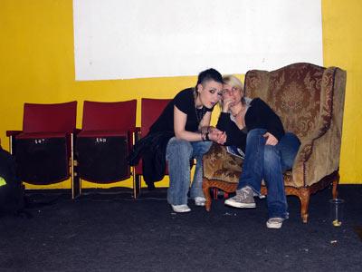 Sha et Emilie Jouvet