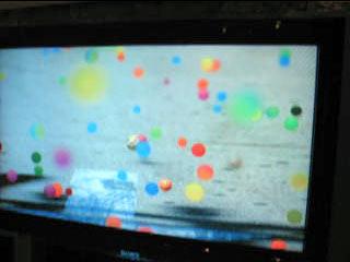téléchargez la pub Sony bouncy balls
