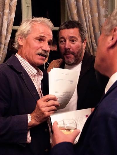 Yann Arthus-Bertrand et Philippe Starck