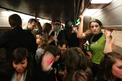 subway party @ ligne 7 bis