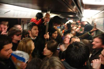 subway party @ ligne 7 bis