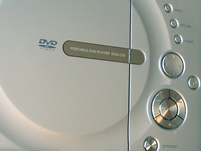 Samsung portable DVD player